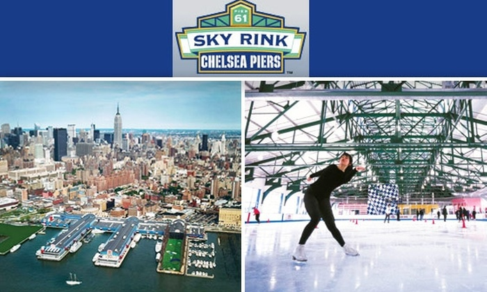 Chelsea Piers Sky Rink - Ludlow: Ice Skate Summer Through Fall at Chelsea Piers Sky Rink