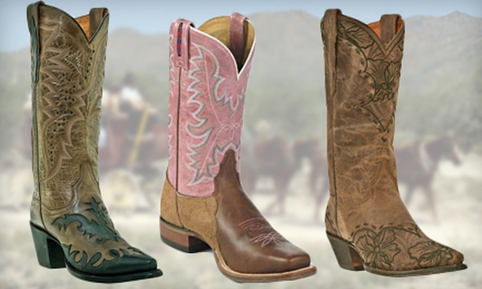 Cowtown Boots - El Paso: $25 for $50 Worth of Cowboy and Western Boots at Cowtown Boots