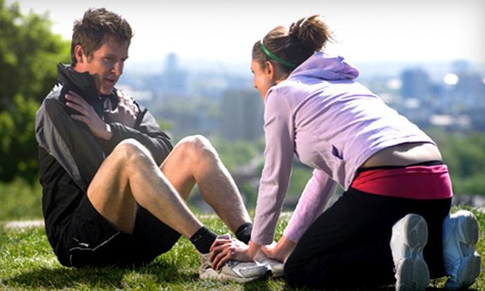 Adeptio Wellness Center - Central City: $29 for Four CrossFit Training Classes at Adeptio Wellness Center ($60 Value)