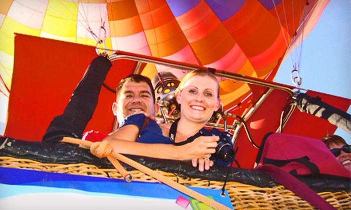 Hot Air Expeditions - Deer Valley: $99 for a Hot Air Balloon Ride, Champagne Toast, and Breakfast or Hors d'Oeuvres from Hot Air Expeditions ($175 Value)