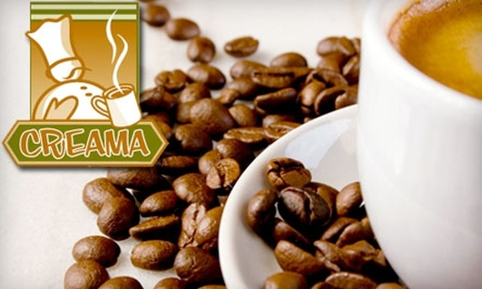 Creama - Downtown Long Beach: $10 for $20 Worth of Café Fare and Drinks at Creama in Long Beach