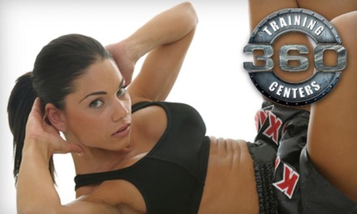 360 Combat Club - Multiple Locations: $25 for Six Kickboxing Classes at 360 Combat Club ($110 Value)