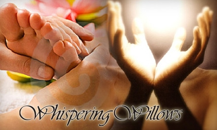 Whispering Willows - Waterloo: $50 for $100 Worth of Reflexology, Reiki, and More at Whispering Willows