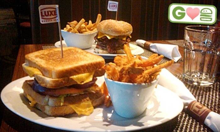 Luxe Burger Bar - Downtown Providence: $8 for $16 Worth of Burgers, Shakes, and More at Luxe Burger Bar in Providence