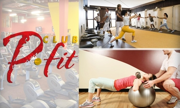 Club P fit - Venice: $30 for a 30-Day Gym Membership, Three Half-Hour Personal Training Sessions, and Three Yoga or Kinesis Classes at Club P-fit