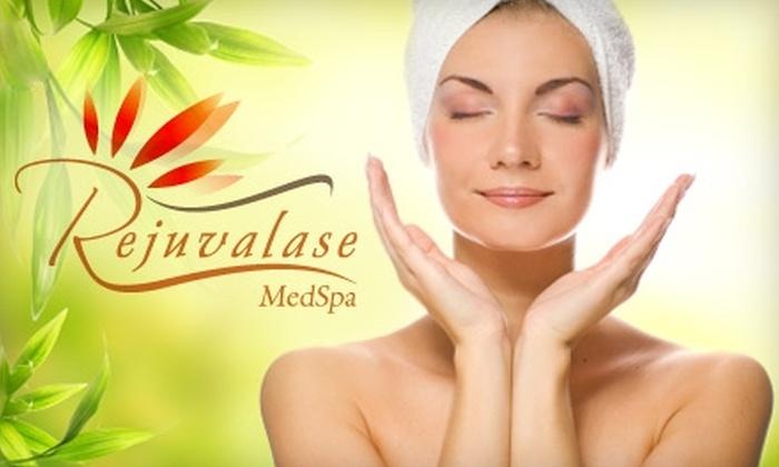 Rejuvalase MedSpa - Aquia: $59 for a 30-Minute Massage, Express Facial, and Express Manicure at Rejuvalase MedSpa in Stafford