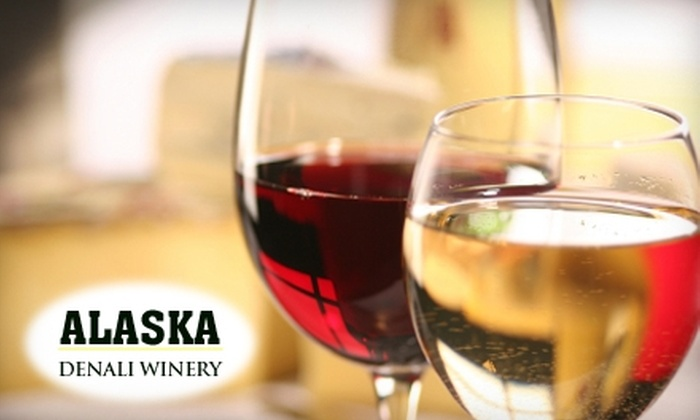 Denali Winery - Taku / Campbell: $125 for a Wine Making Experience, Wine Tasting, and Hors d'Oeuvres at Denali Winery ($500 Value)