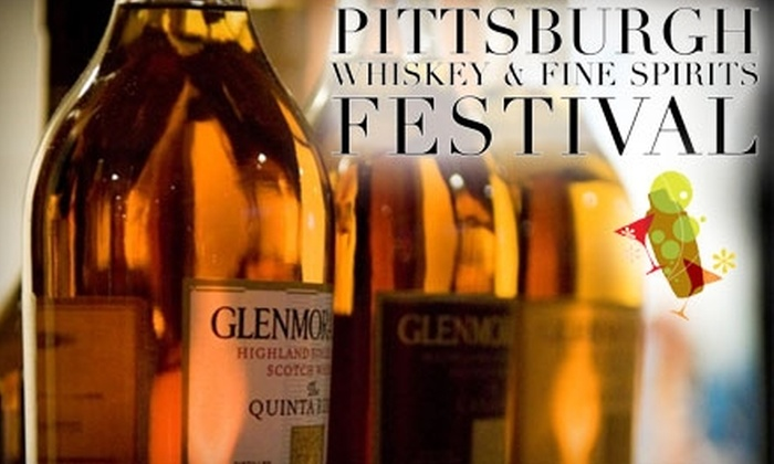 Pittsburgh Whiskey and Fine Spirits Festival - Northshore: $42 for a Ticket to the Pittsburgh Whiskey and Fine Spirits Festival (Up to $95 Value)
