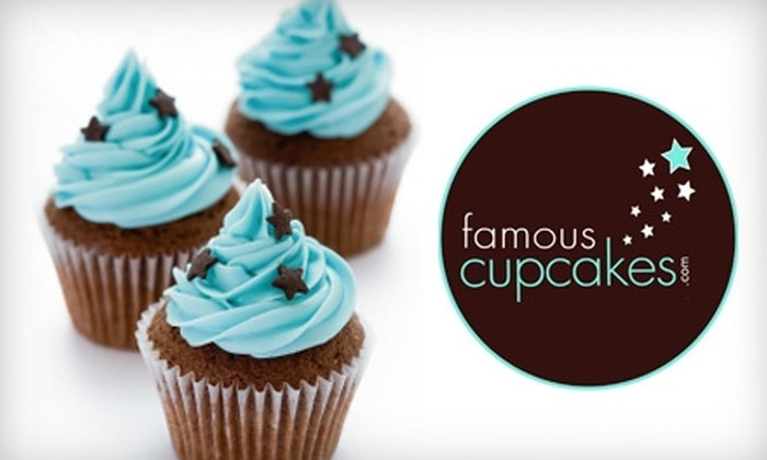 Famous Cupcakes - Valley Village: $19 for a Dozen Cupcakes at Famous Cupcakes
