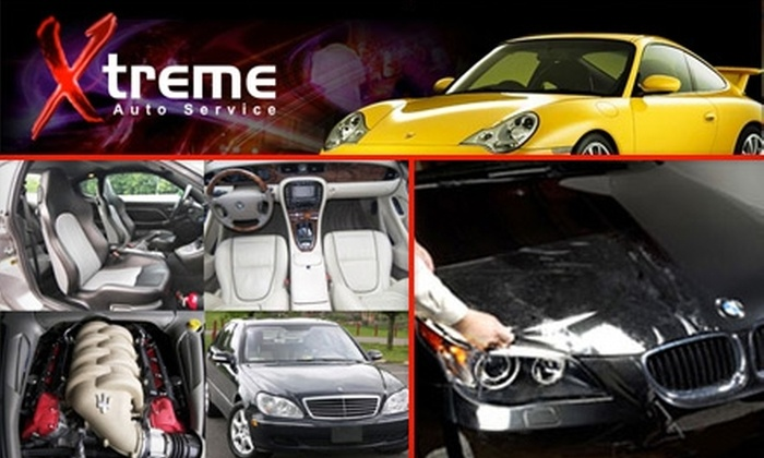 Xtreme Auto Services - Dulles Trade Center: $25 for the 15-Point Star Service Including a Handwash, Oil Change, and Tire Rotation at Xtreme Auto Services in Sterling ($59.90 Value)
