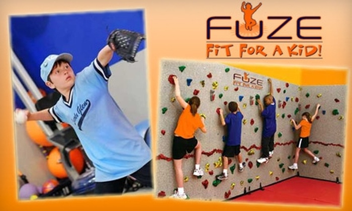 FUZE Fit For A Kid! - Los Gatos: $39 for a 10-Visit Pass to FUZE Fit For A Kid! ($238 Value)