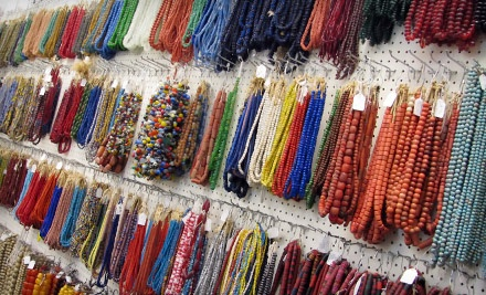 $30 Groupon to Beads Galore International - Beads Galore International in Tempe