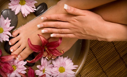 Beauty and Beyond Personal Enhancement Center: 1 Spa Mani-Pedi - Beauty and Beyond Personal Enhancement Center in Arlington