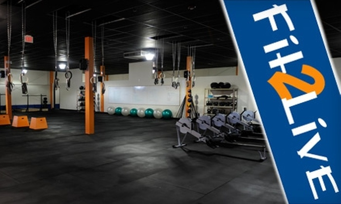 Fit2Live - Roosevelt: $39 for One Month of Unlimited CrossFit Classes at Fit2Live ($125 Value)
