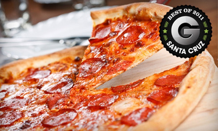 Pleasure Pizza's East Side Eatery - Santa Cruz: $10 for $20 Worth of Pizza, Sandwiches, Salads, and Breakfast Fare at Pleasure Pizza's East Side Eatery