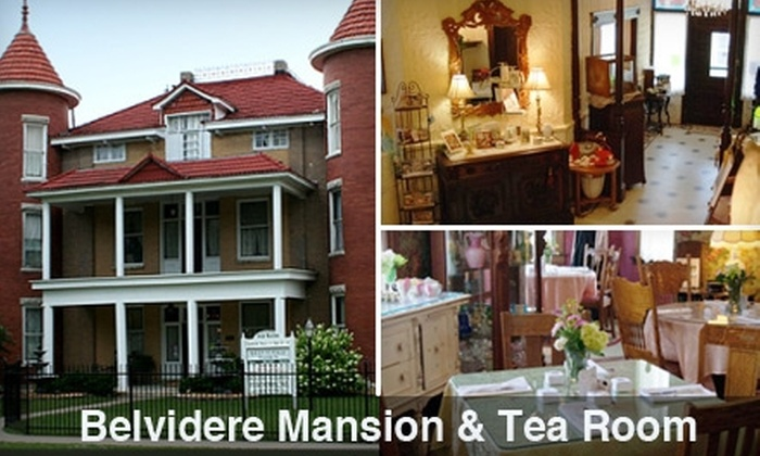 The Belvidere Mansion - Claremore: $6 for $12 Worth of Lunch Fare, Plus Tea, at The Belvidere Mansion in Claremore ($14 Value)