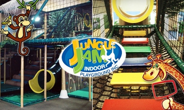 Jungle Jam Indoor Playground - Ancaster: $27 for Six Passes to Jungle Jam Indoor Playground (Up to $54.24 Value)