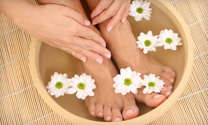 Trinity Salon & Spa - Woodland Hills: $27 for a Spa Package with a Gel Manicure and Foot Scrub at Trinity Salon & Spa in Woodland Hills ($55 Value)