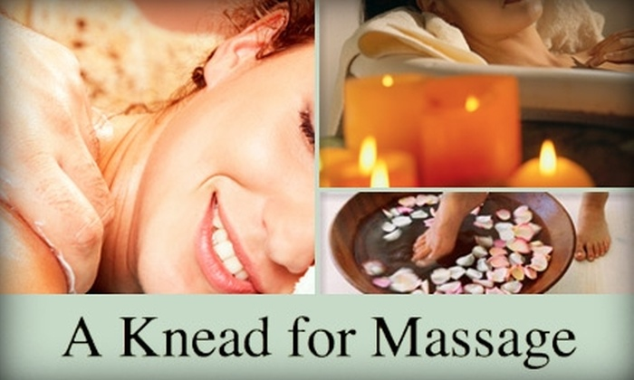 A Knead for Massage - West Chester: $37 One-Hour Massage Plus Upgrade at A Knead for Massage