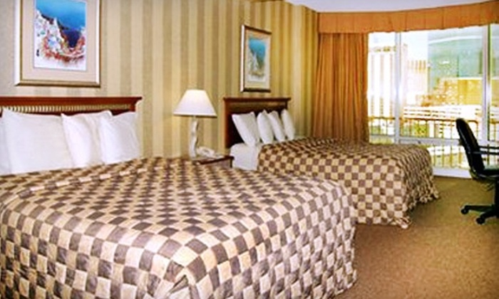 null - The Strip: $37 for One Night in a Standard Room at Clarion Hotel and Casino (a $129 Value)