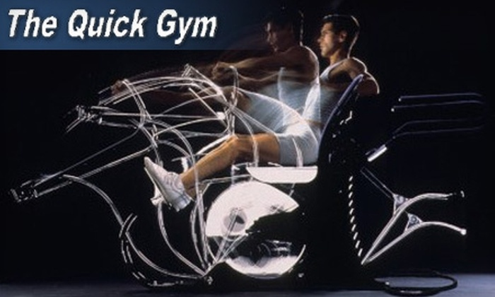 Quick Gym Utah - Central City: $19 for a One-Month Membership at Quick Gym Utah (Up to $85 Value)