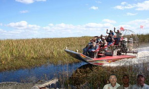 Alligators Unlimited Nature Tours: Up to 31% Off Airboat Tour at Alligators Unlimited Nature Tours