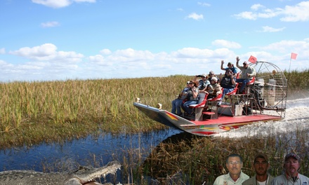 Up to 31% Off Airboat Tour at Alligators Unlimited Nature Tours