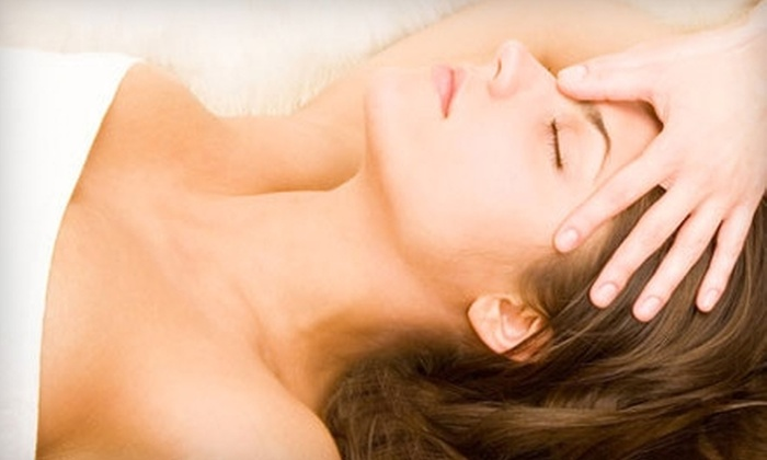 Sassafras Street Hair Company & Day Spa - Erie: $49 for 45-Minute Massage, Shampoo, Deep-Conditioning Treatment, Blow-Dry, and Finish at Sassafras Street Hair Company & Day Spa ($100 Value)