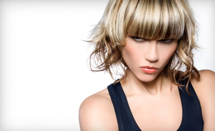 Deep-Conditioning Treatment, Haircut, and Style (a $50 value) - Manewaves Hair & Nail Salon in Fayetteville