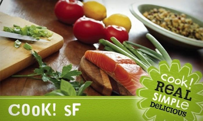 Cook! SF - San Francisco: $22 for Three Gourmet, Ready-to-Cook Meals from Cook! SF (Up to $47.85 Value)