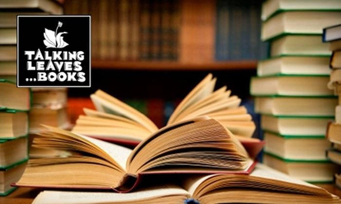 Talking Leaves - Multiple Locations: $10 for $20 Worth of Books at Talking Leaves