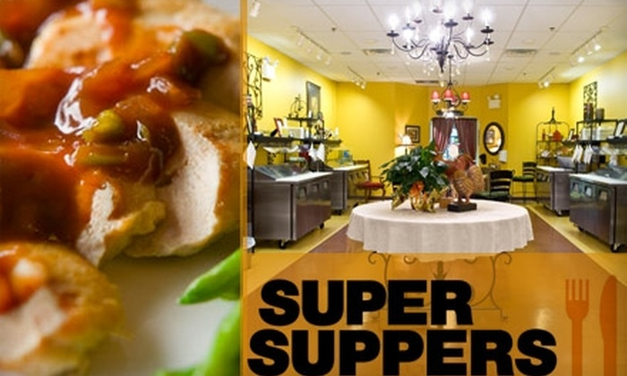 Super Suppers - Voorhees: $49 for Five Two- to Three-Serving Regular-Size Entrees and One Dessert (Up to $96 Value)