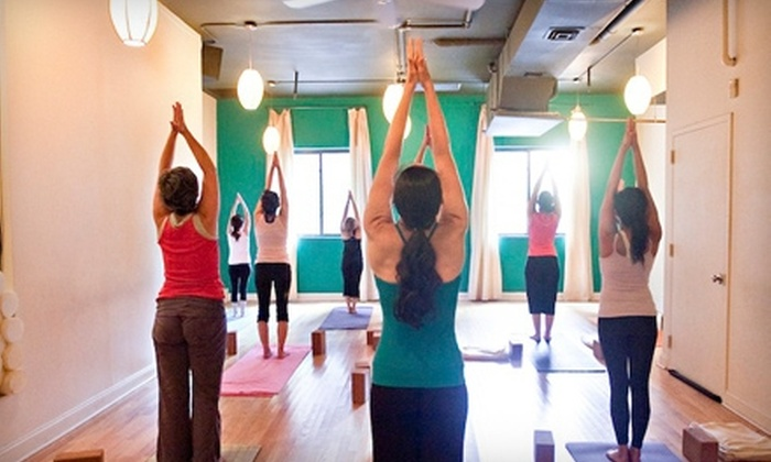 mang'Oh - Murray Hill: $39 for One Month of Unlimited Yoga and Pilates at mang'Oh ($110 Value)