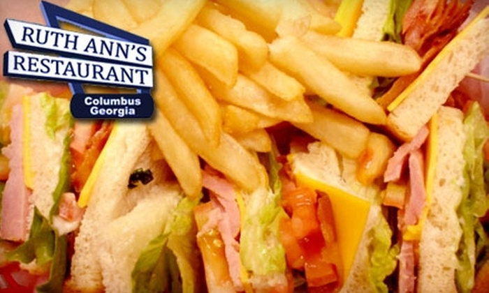 Ruth Ann's Restaurant - Downtown Columbus: $10 for $20 Worth of Southern Fare and Drinks at Ruth Ann's Family Restaurant