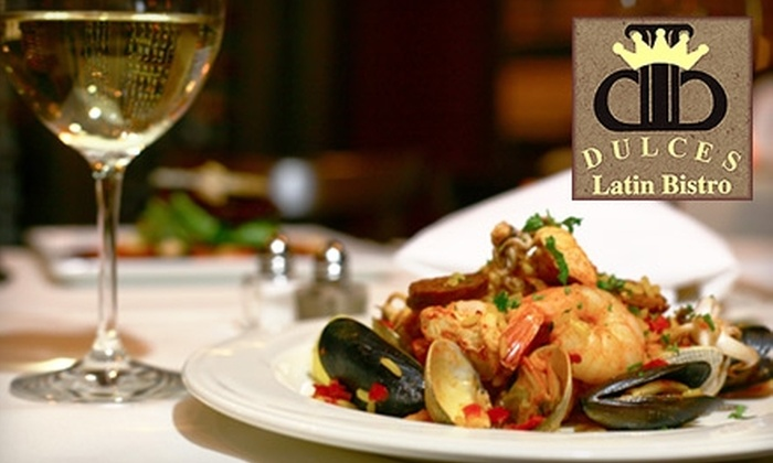 Dulces Latin Bistro - Madrona: $28 for $65 Worth of Casual Dining at Dulces Latin Bistro