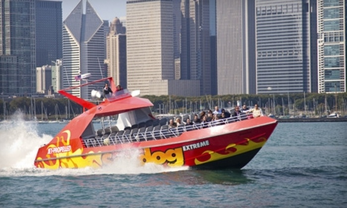 Seadog Cruises - Near North Side: Boating Excursions from Seadog Cruises. Three Options Available.