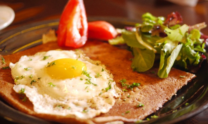 A la Folie Café - Bayshore: French Cuisine for Two or Four at A la Folie Café (Half Off)