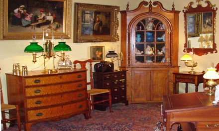 $12 for Admission for Two to the The Morristown Armory Antiques Show ($20 Value)