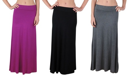 Free to Live Women's Maxi Skirt