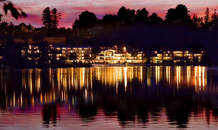Golden Arrow Lakeside Resort - Lake Placid, NY: Stay with Daily Breakfast at Golden Arrow Lakeside Resort in Lake Placid, NY. Dates Available into December.