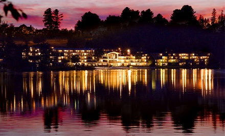 Stay with Daily Breakfast at Golden Arrow Lakeside Resort in Lake Placid, NY. Dates Available into May.