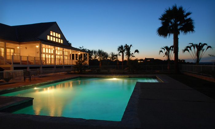 Hotel Alsace & Spa - Castroville, TX: One- or Two-Night Stay with Lunch Buffet, Salad Bar, and Optional Spa Credit at Hotel Alsace & Spa in Castroville, TX