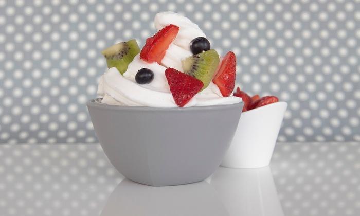 Cravingz Premium Frozen Yogurt - Arbutus: $15 for Three Vouchers, Each Valid for $10 Worth of Frozen Yogurt at Cravingz Premium Frozen Yogurt ($30 Value)