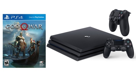 Sony PlayStation 4 1TB Pro Game System with DualShock 4 Black Controller and God of War Game fdc4d672-634c-11e8-9394-002590604002