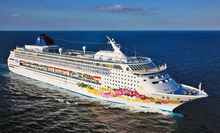 groupon daily deal - 3- or 4-Day Bahamas Cruise for Two from Norwegian Cruise Line
