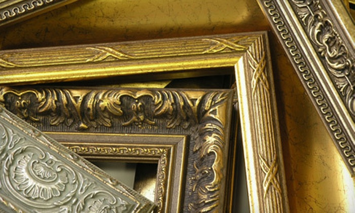 Denali Graphics & Frame - Midtown: $49 for $100 Worth of Custom Framing at Denali Graphics & Frame