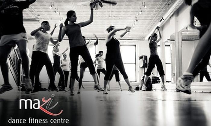 MaZi Dance Fitness Centre - Wicker Park: $39 for Five Drop-In Dance-Based Fitness Classes at MaZi Dance Fitness Centre
