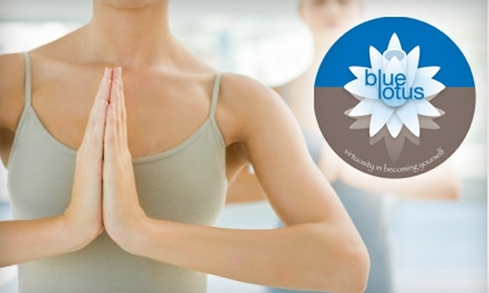 Blue Lotus Yoga - Pittsford: $25 Five-Class Card at Blue Lotus Yoga in Pittsford