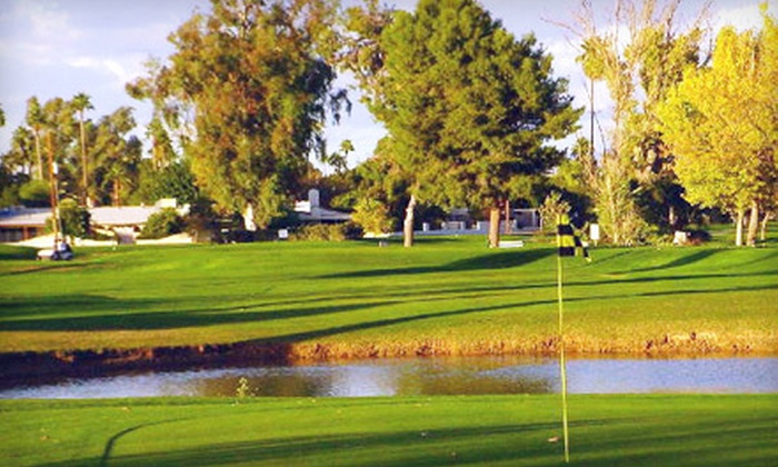 Shalimar Country Club - Shalimar Golf Club: Nine-Hole Golf Outing for Two or Four with Cart, Range Balls, and Snack at Shalimar Country Club (Up to 60% Off)