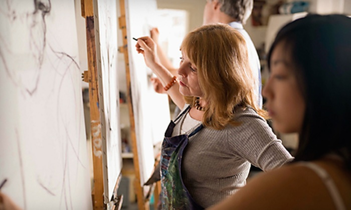 Express Yourself Studios - Maplewood: $20 for a Guided Art Class for Two at Express Yourself Studios in Maplewood ($50 Value)